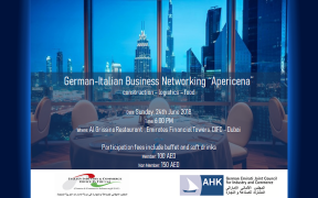 24.06.2018 - The German-Italian networking, focused on construction-logistic and food
