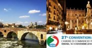 27ESIMA CONVENTION MONDIALE DELLE CAMERE DI COMMERCIO ITALIANE ALL'ESTERO
