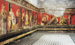 The Villa of the Mysteries of Pompeii
