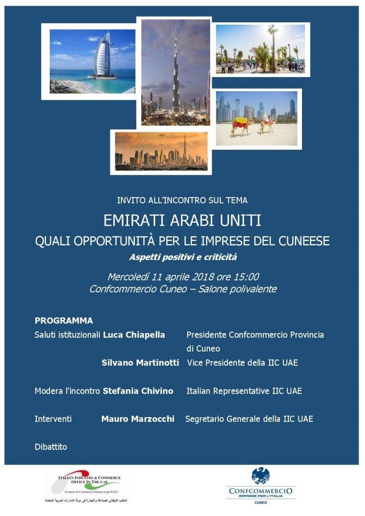 EAU - Quali opportunita per le imprese del Cunese