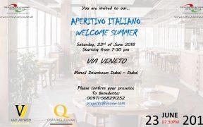 Aperitivo Italiano @ Via Veneto