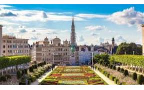 ilvano Martinotti in visita a Bruxelles