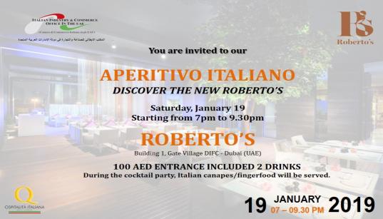 Aperitivo Italiano Roberto's