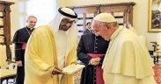 Storico viaggio di Papa Francesco negli EAU