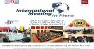 INTERNATIONAL MEETING in FIERA INTERVENTO DELL'AVV. FACCHINETTI