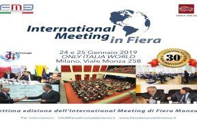 INTERNATIONAL MEETING in FIERA INTERVENTO DELL'AVV. FACCHINETTI
