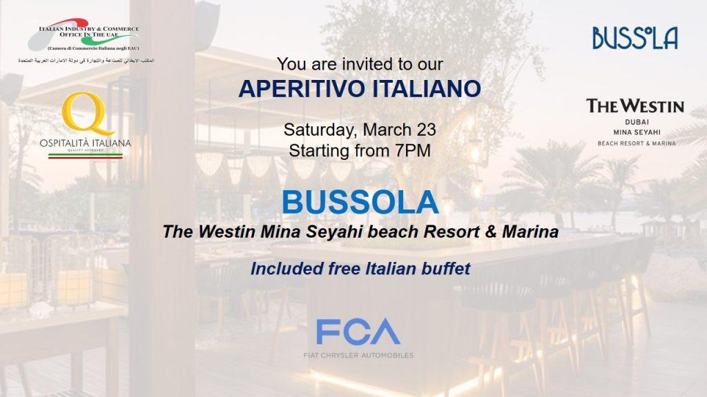 Aperitivo Italiano @Bussola