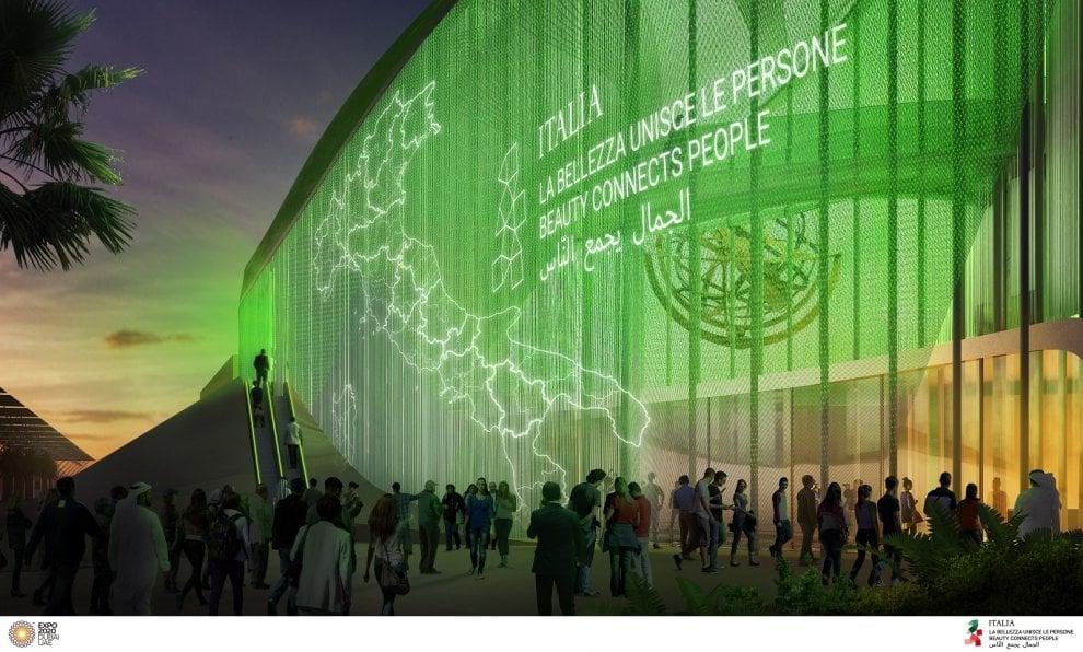 Dubai, ecco il (futuro) padiglione Italia per l'Expo 2020 Galleria fotografica