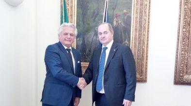 Il Vice Presidente della IICUAE incontra il Vice Ministro, On. Dario Galli