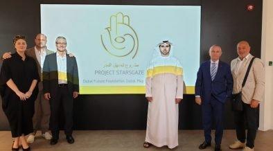 Visita di Starsgaze a Dubai Future Foundation