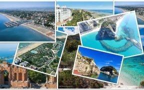 Italian beaches' selection