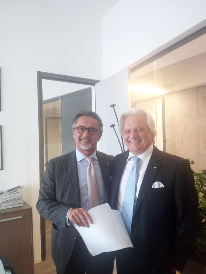 Silvano Martinotti incontra Confindustria Moda - Milano, 18 Giugno 2019