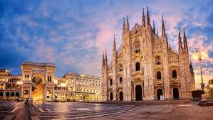 Milan is beautiful in fog, like a woman with a veil.