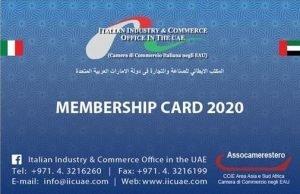 Membership card 2020