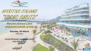 Aperitivo Italiano – Torno Subito – 7th of March 2020